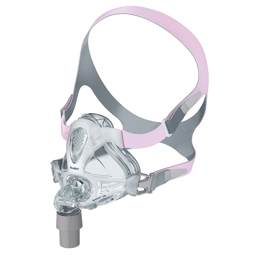 ResMed Quattro™ FX for Her Full face cpap Mask Complete System Front